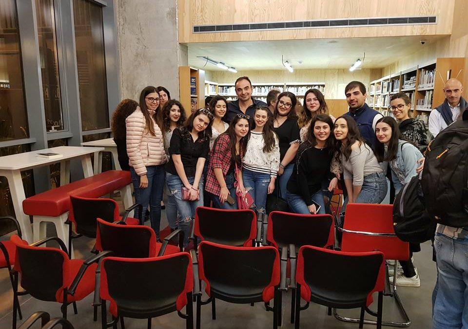 Presentación de Azahares de Granada en el Instituto Cervantes de Beirut