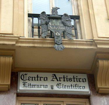 Presentación en el Centro Artístico, Literario y Científico de Granada